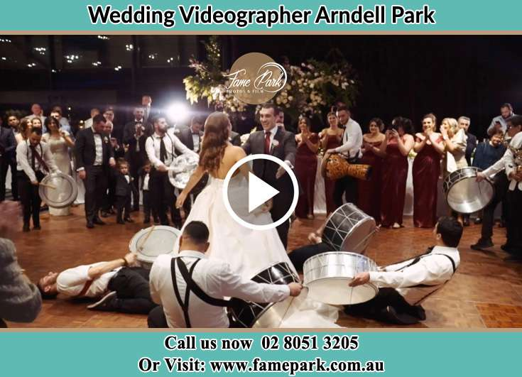Bride andGroom at the dance floor Arndell Park NSW 2148