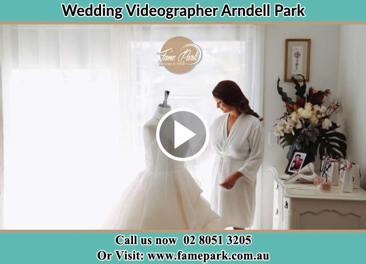 Bride looking at her secondary sponsors Arndell Park NSW 2148