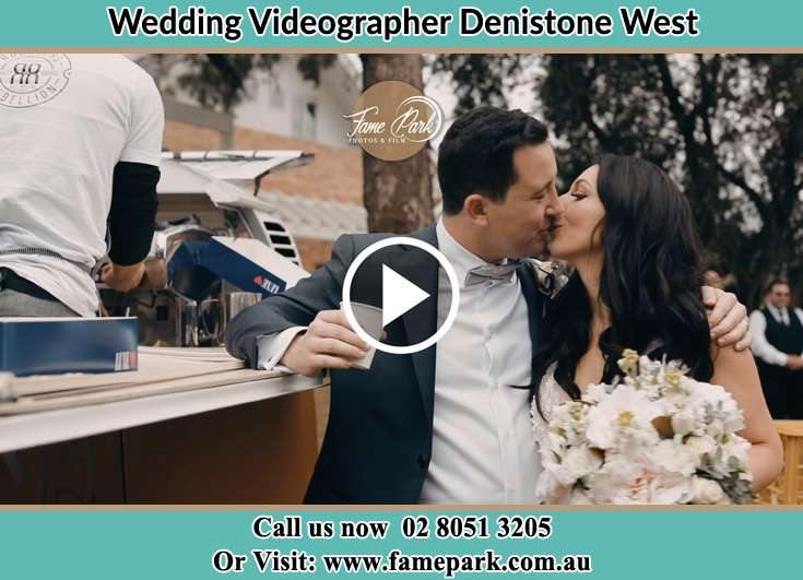 The new couple kissing Denistone West NSW 2114