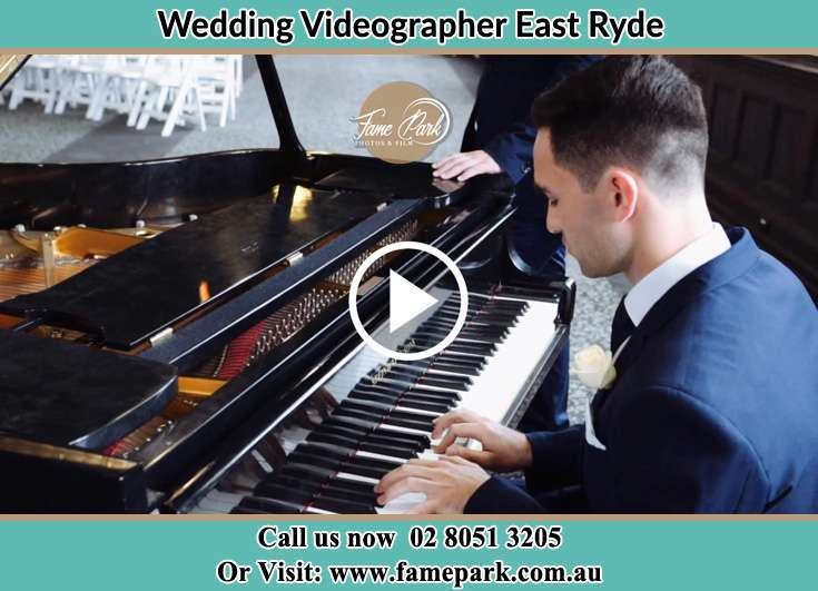 The Groom playing piano East Ryde NSW 2113