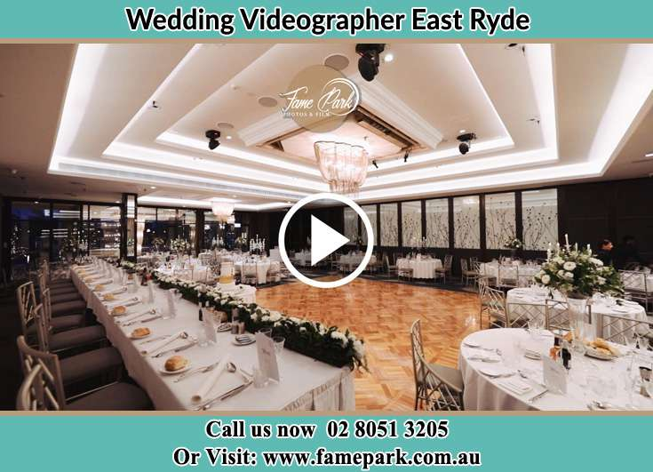 The reception venue East Ryde NSW 2113