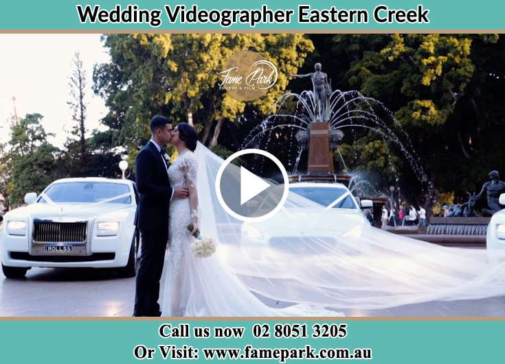 Bride and Groom kissed at the park Eastern Creek NSW 2766