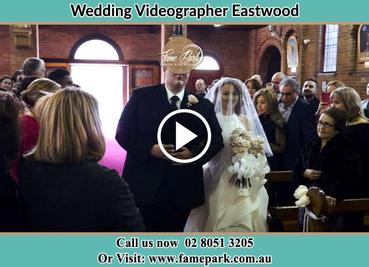The Bride walking down the aisle with her father Eastwood NSW 2112