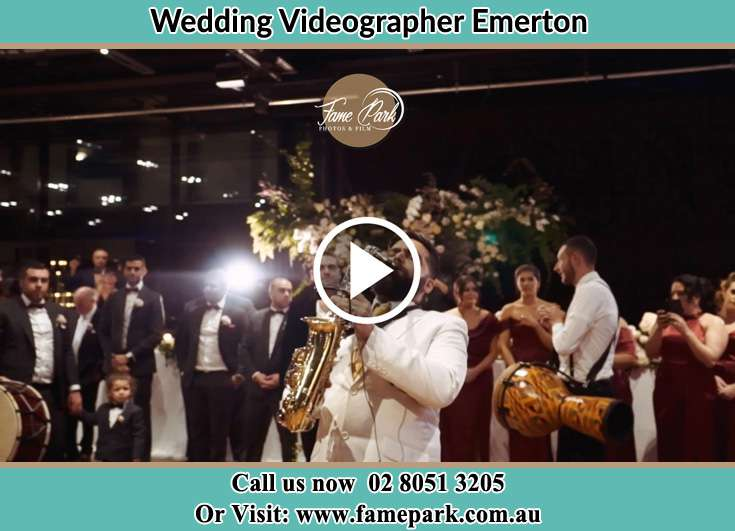 Live band playing at the reception Emerton NSW 2770
