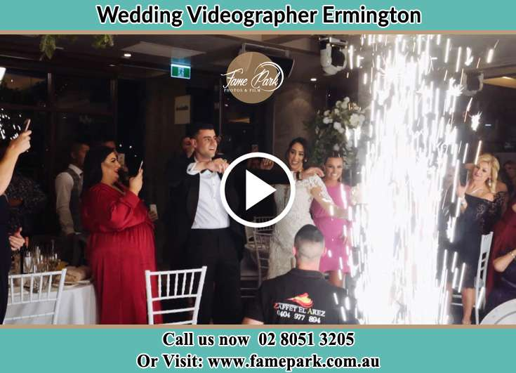 Bride and Groom at the dance floor Ermington NSW 2115