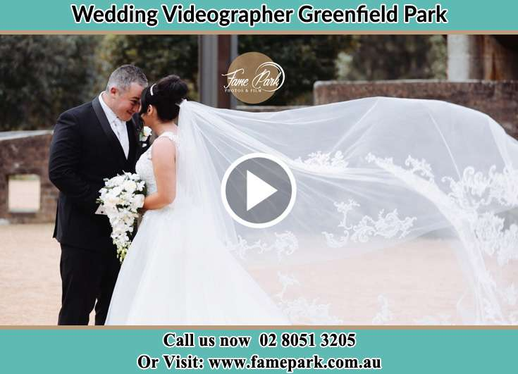 Bride and Groom looking at each other Greenfield Park NSW 2176