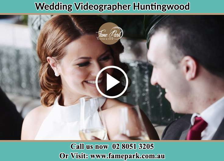 Bride and Groom looking at each other at the reception Huntingwood NSW 2148