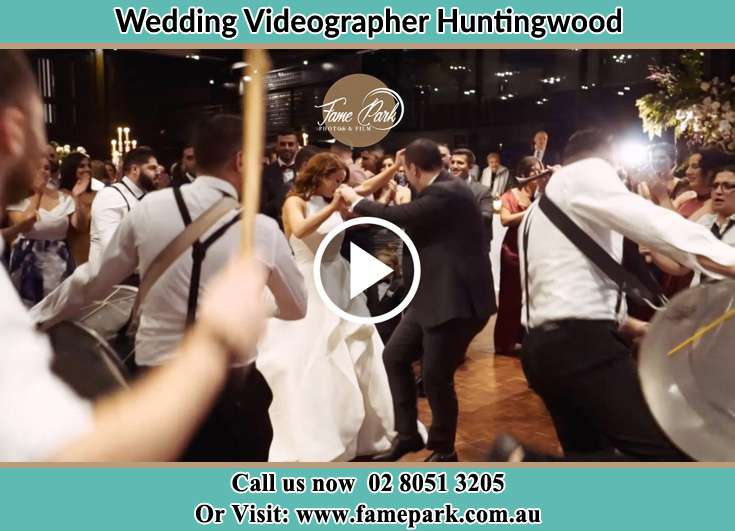 Bride and Groom at the dance floor Huntingwood NSW 2148