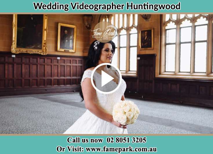 Bride walking at the aisle Huntingwood NSW 2148