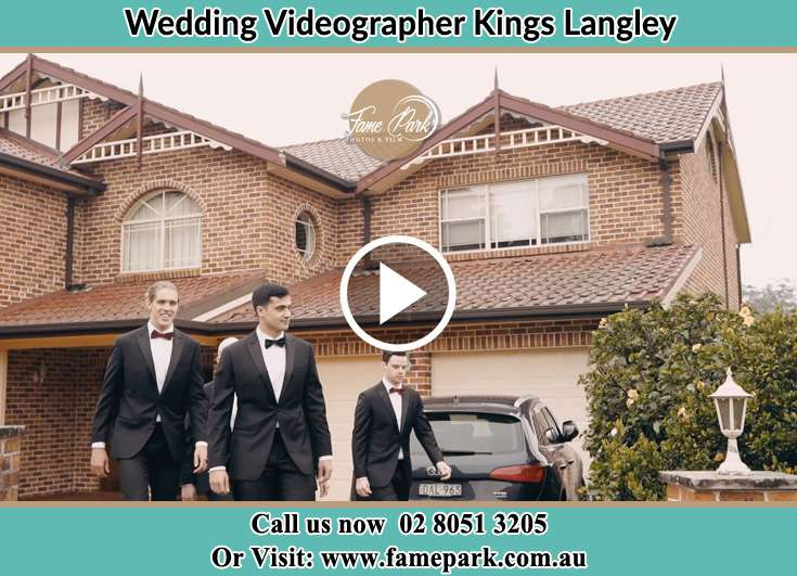 Groom and his secondary sponsors already prepared Kings Langley NSW 2147