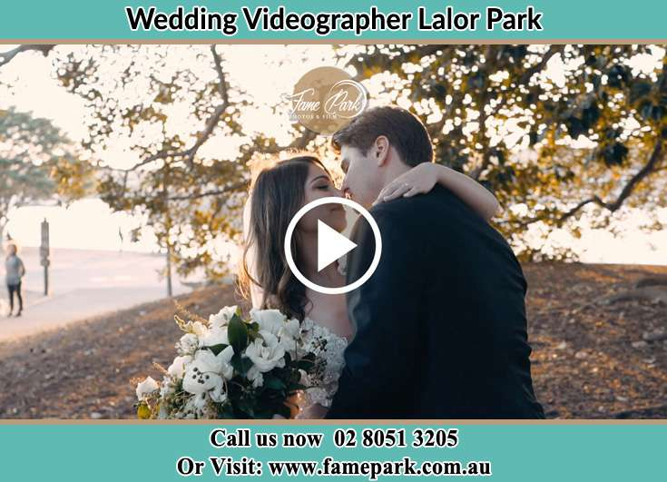 Bride and Groom looking at each other at the park Lalor Park NSW 2147
