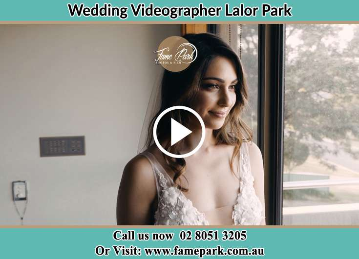 Bride looking at the window Lalor Park NSW 2147