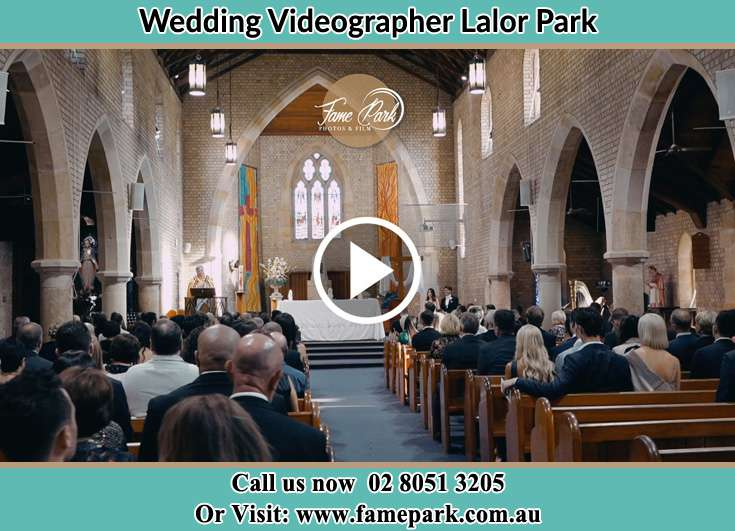 Bride and Groom at the altar during the ceremony Lalor Park NSW 2147