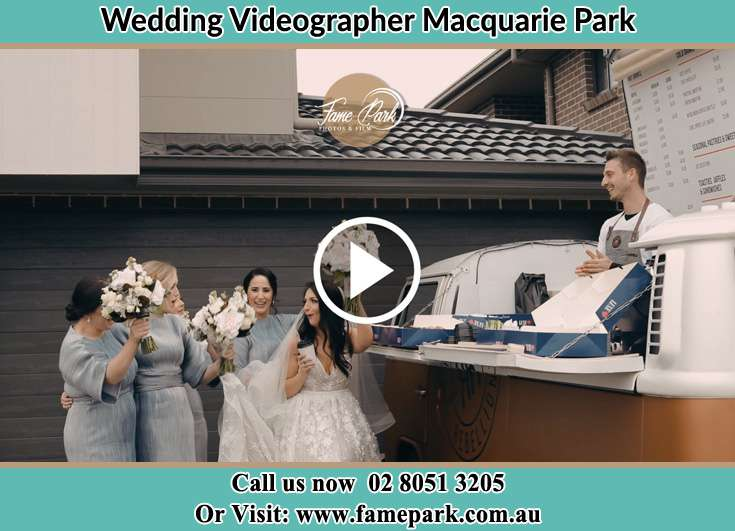 Bride and her secondary sponsors Macquarie Park NSW 2113