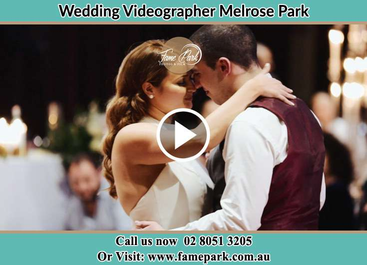 Bride and Groom looking at each other while dancing Melrose Park NSW 2114