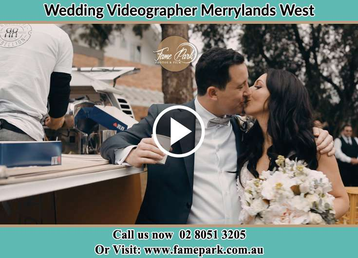 Bride and Groom kissed at the reception Merrylands West NSW 2160