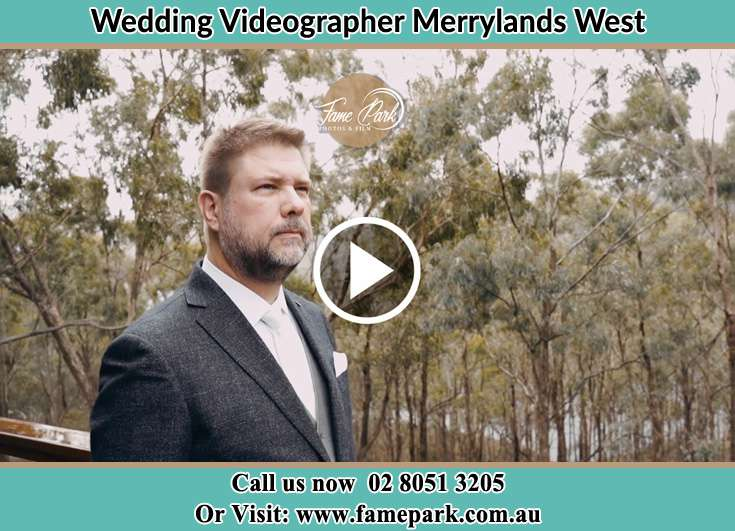 Groom already prepared at the park Merrylands West NSW 2160