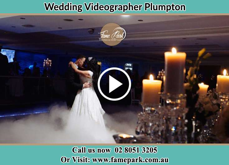 Bride and Groom dance at the dance floor Plumpton NSW 2761