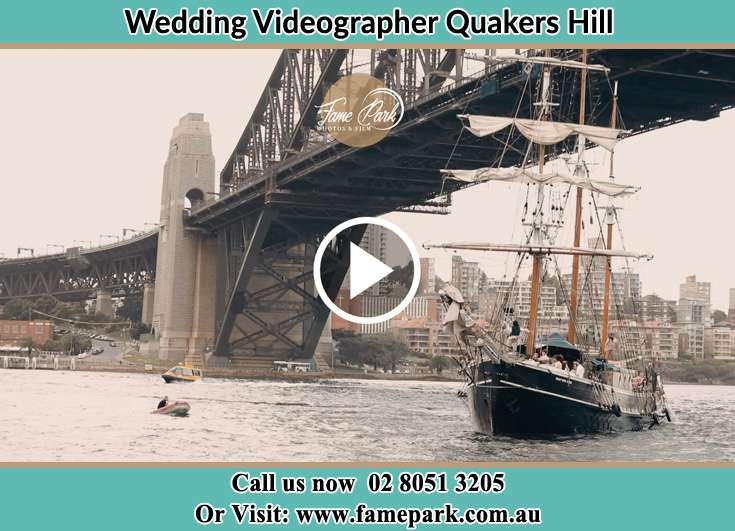 Bride and Groom boat ride Quakers Hill NSW 2763