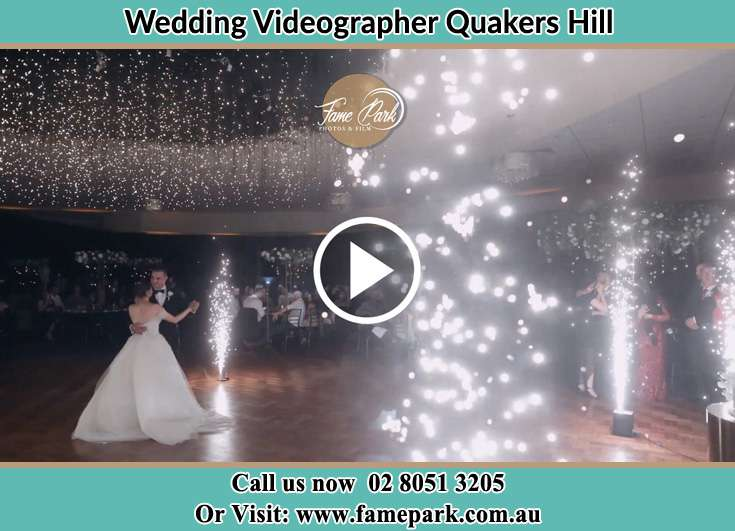 Bride and Groom looking at each other while dancing Quakers Hill NSW 2763