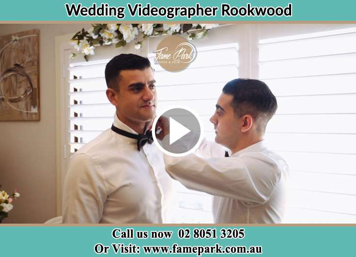 Groom getting ready Rookwood NSW 2141