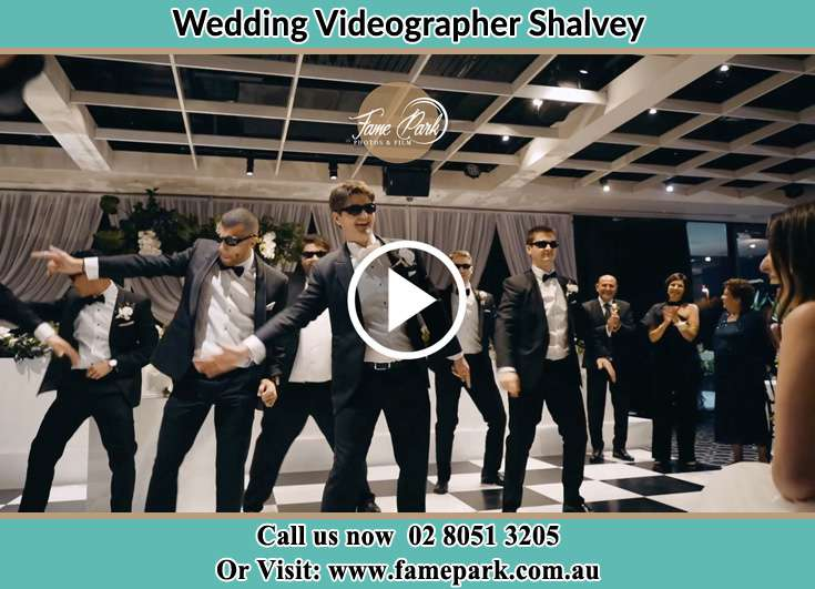 Groom dance with his secondary sponsors Shalvey NSW 2770