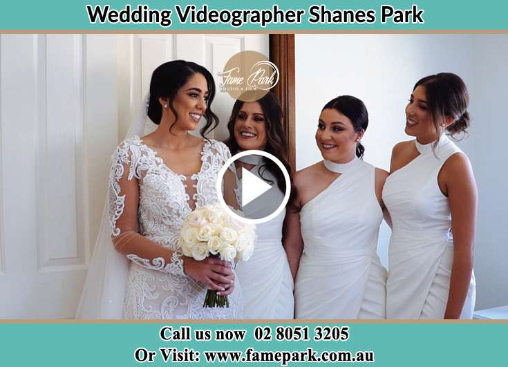 Bride and her secondary sponsors already prepared Shanes Park NSW 2747