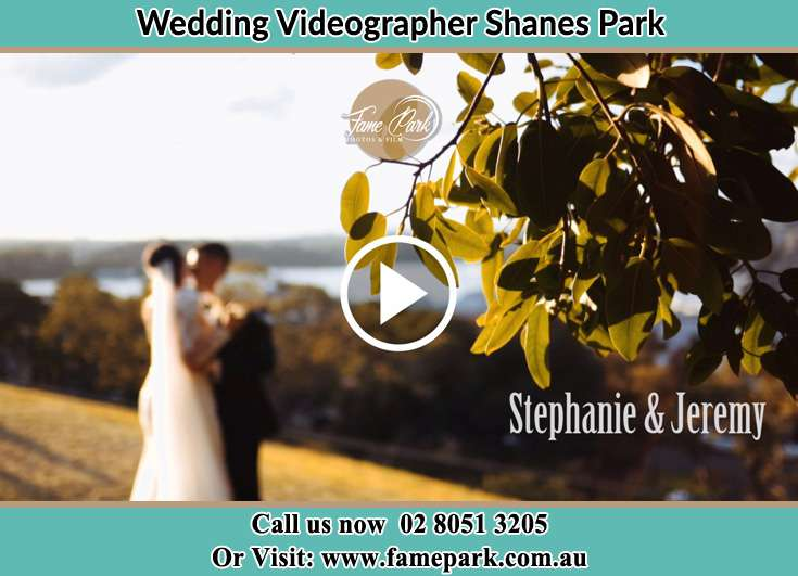 Bride and Groom looking at each other at the hill Shanes Park NSW 2747