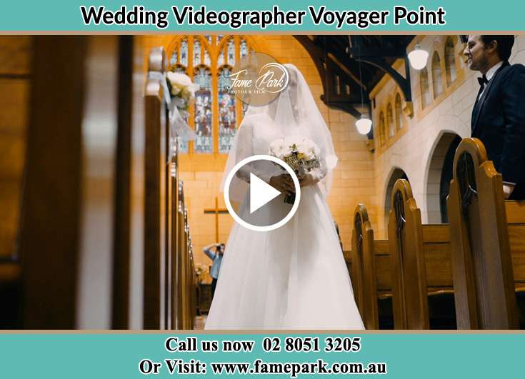 The Bride walking down the aisle Voyager Point NSW 2172