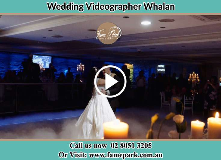 The new couple dancing on the dance floor Whalan NSW 2770