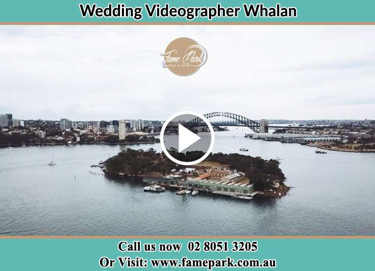 The Aerial view of the wedding venue Whalan NSW 2770